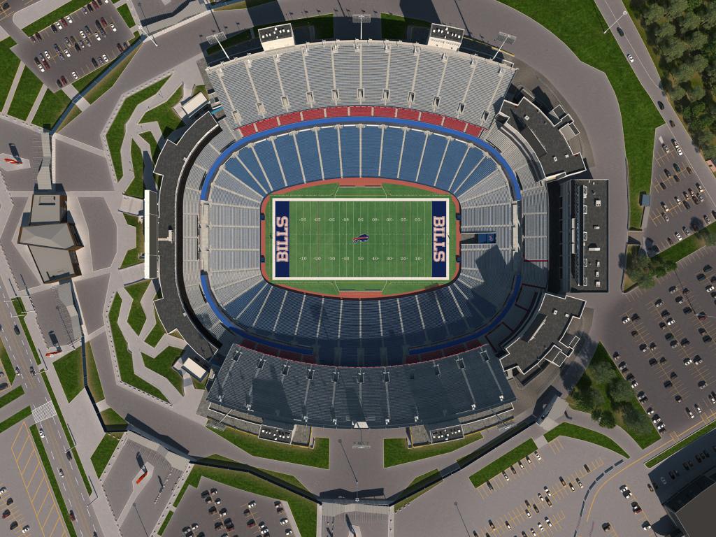 Buffalo Bills Stadium Map Buffalo Bills Virtual Venue™ by IOMEDIA Buffalo Bills Stadium Map